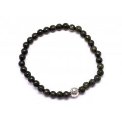 Bracelet Elastique enfant Pierre Serpentine 4mm