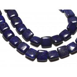 4pc - Perles de Pierre - Lapis Lazuli Carrés 12mm - 8741140019843