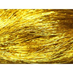 200 mètres - Echeveau Fil Cordon Tissu Nylon 0.5mm Jaune Doré - 8741140018815