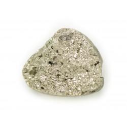 N4 - Cabochon de Pierre - Pyrite dorée brut 25x20mm - 8741140018341