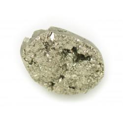 N5 - Cabochon de Pierre - Pyrite dorée brut 26x19mm - 8741140018358