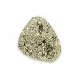 N7 - Cabochon de Pierre - Pyrite dorée brut 25x20mm - 8741140018372