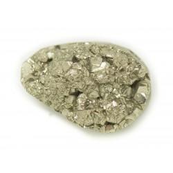 N11 - Cabochon de Pierre - Pyrite dorée brut 24x16mm - 8741140018419