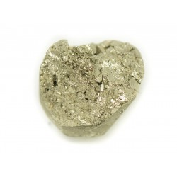 N13 - Cabochon de Pierre - Pyrite dorée brut 22x20mm - 8741140018433