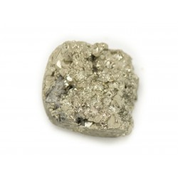 N16 - Cabochon de Pierre - Pyrite dorée brut 22x18mm - 8741140018464