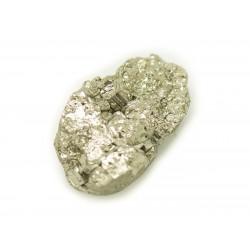 N19 - Cabochon de Pierre - Pyrite dorée brut 19x12mm - 8741140018495