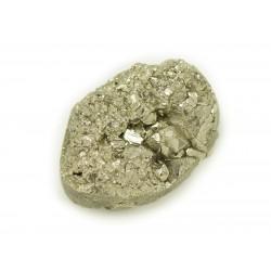 N20 - Cabochon de Pierre - Pyrite dorée brut 23x16mm - 8741140018501