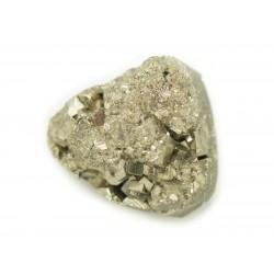 N21 - Cabochon de Pierre - Pyrite dorée brut 22x18mm - 8741140018518