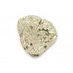 N22 - Cabochon de Pierre - Pyrite dorée brut 23x21mm - 8741140018525