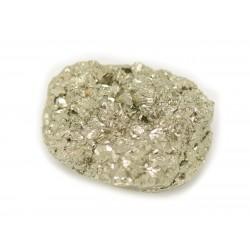 N25 - Cabochon de Pierre - Pyrite dorée brut 22x19mm - 8741140018556