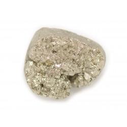 N26 - Cabochon de Pierre - Pyrite dorée brut 21x18mm - 8741140018563