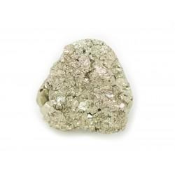 N29 - Cabochon de Pierre - Pyrite dorée brut 19x18mm - 8741140018594