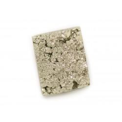 N30 - Cabochon de Pierre - Pyrite dorée brut 16x13mm - 8741140018600