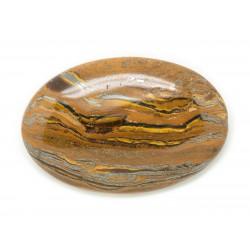 N4 - Cabochon Pierre - Oeil de Fer Tigre Ovale 38x25mm - 8741140018198