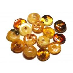 Bracelet collier en ambre naturelle véritable