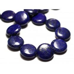1pc - Perle de Pierre - Lapis Lazuli Palet 20mm - 4558550035721