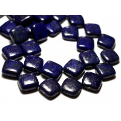 2pc - Perles de Pierre - Lapis Lazuli Losanges 16mm - 8741140014312