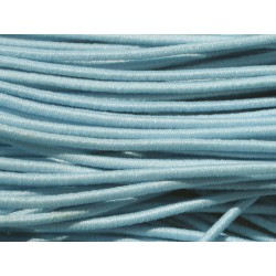 Echeveau 19m - 5 Fils 3,80m Elastique Tissu 1mm Bleu Ciel 4558550004291