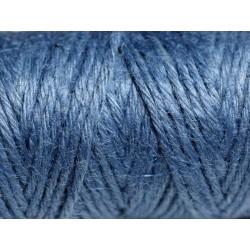 Bobine 20 mètres - Cordon Ficelle Chanvre 1.5mm Bleu Marine Indigo - 8741140011113