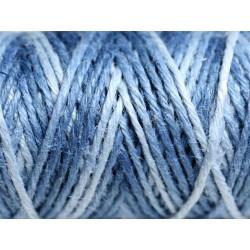 Bobine 20 mètres - Cordon Ficelle Chanvre 1.5mm Multicolore Nuances Bleu - 8741140011199