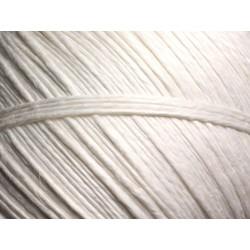 Bobine 170 mètres - Cordon Ficelle Lin 1mm Blanc - 8741140010864
