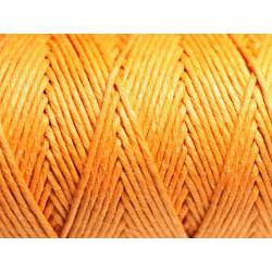 Bobine 90 mètres - Cordon Ficelle Chanvre 1.2mm Orange - 8741140010932