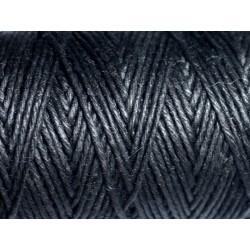 Bobine 90 mètres - Cordon Ficelle Chanvre 1.2mm Noir - 8741140010963