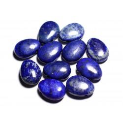 Pendentif Pierre semi précieuse - Lapis Lazuli Goutte 25mm - 4558550092229