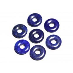 Pendentif Pierre semi précieuse - Lapis Lazuli Donut Pi 20mm - 4558550092083
