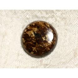 Cabochon de Pierre - Bronzite Rond 18mm N41 - 4558550087669