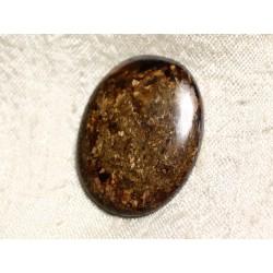 Cabochon de Pierre - Bronzite Ovale 34mm N30 - 4558550087188