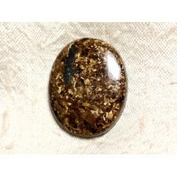 Cabochon de Pierre - Bronzite Ovale 31mm N34 - 4558550087225