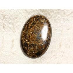 Cabochon de Pierre - Bronzite Ovale 40mm N37 - 4558550087256