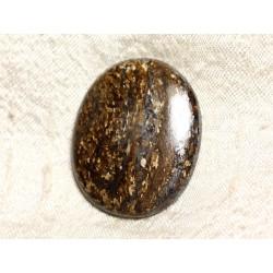 Cabochon de Pierre - Bronzite Ovale 38mm N38 - 4558550087263
