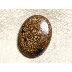 Cabochon de Pierre - Bronzite Ovale 31mm N26 - 4558550087140