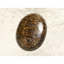Cabochon de Pierre - Bronzite Ovale 32mm N27 - 4558550087157