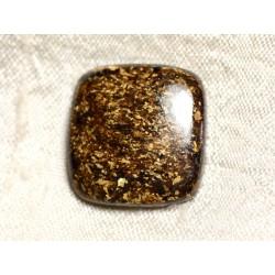 Cabochon de Pierre - Bronzite Rectangle 23mm N14 - 4558550087027