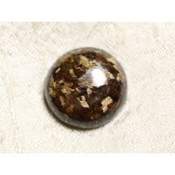 Cabochon de Pierre - Bronzite Rond 21mm N1 - 4558550086891