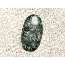 Cabochon Pierre - Séraphinite Ovale 31x17mm N6 - 4558550086723
