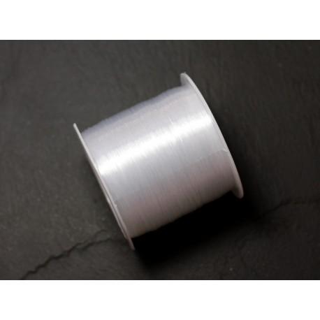 Bobine 65 mètres - Fil Nylon Blanc Transparent 0.4mm - 4558550086662