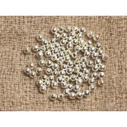 10pc - Perles Argent 925 Rondes 3mm - 4558550018786