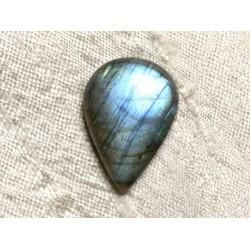 Cabochon de Pierre - Labradorite Goutte 27x17mm N83 - 4558550085375