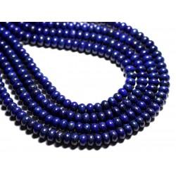 10pc - Perles de Pierre - Lapis Lazuli Rondelles 8x5mm - 4558550027269