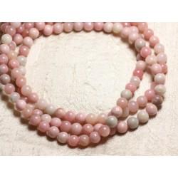5pc - Perles de Pierre - Opale Rose Boules 8mm - 4558550082299