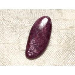 Cabochon de Pierre - Rubis Zoïsite 26x12mm N40 - 4558550081506