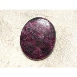 Cabochon de Pierre - Rubis Zoïsite Ovale 31x26mm N23 - 4558550081339
