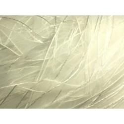1pc - Echeveau 90 mètres - Ruban Tissu Organza Blanc 10mm 4558550005199