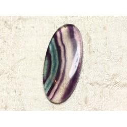 Cabochon de Pierre - Fluorite Ovale 51x24mm N3 - 4558550079947