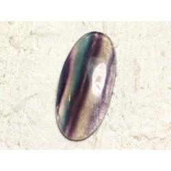 Cabochon de Pierre - Fluorite Ovale 47x23mm N9 - 4558550080004