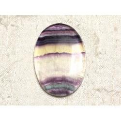 Cabochon de Pierre - Fluorite Ovale 42x30mm N26 - 4558550080172